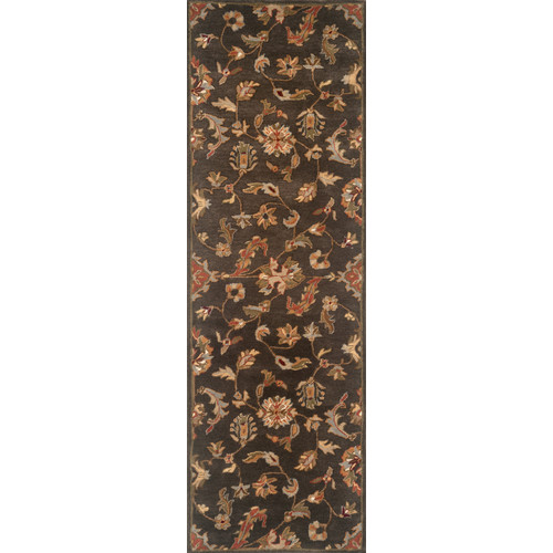 Continental Rug Company Serene Charcoal Area Rug