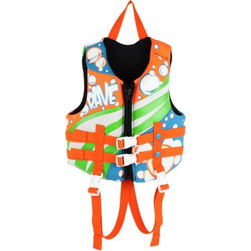 Rave Sport Children's Neo Life Vest, Blue