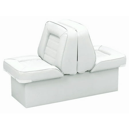 Marine Lounge Seats (Wise 8WD505P-1-710 Bucket Style Back to Back Lounge Seat, White)