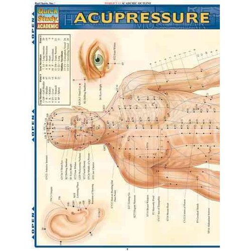 Acupressure Laminated Reference Guide