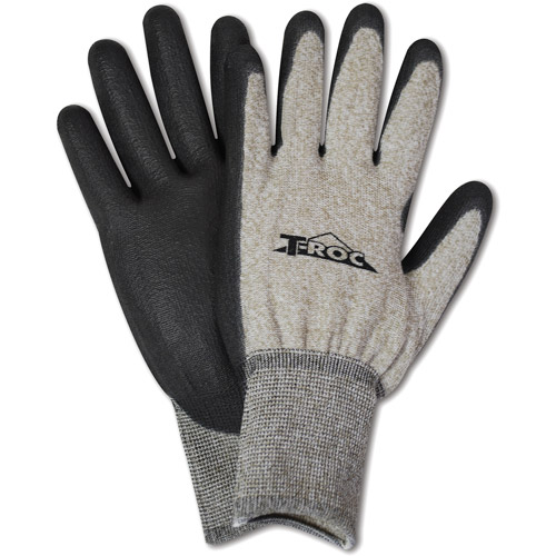 HandMaster Touch Screen Poly-Coated Glove, Pack of 3