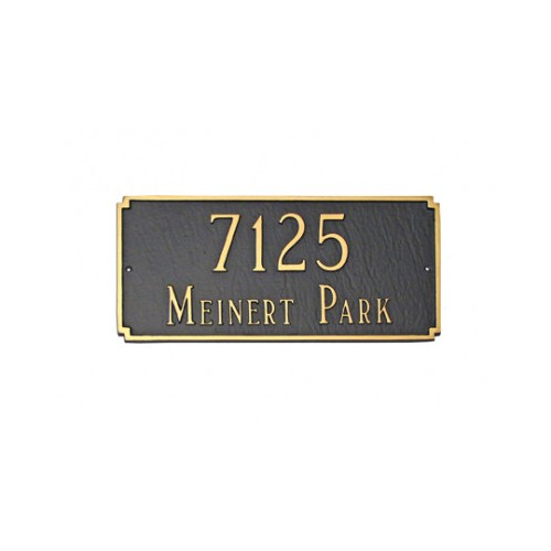 Montague Metal Products Inc. Madison Standard Address Plaque