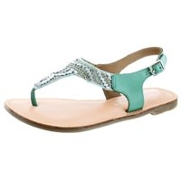 c9739b488de47 Product Image Very Volatile Sari Women s Beaded Leather Thong Sandals