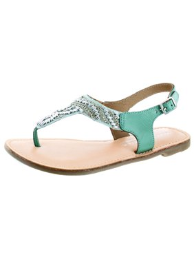 1abdf0a5d9c Product Image Very Volatile Sari Women s Beaded Leather Thong Sandals