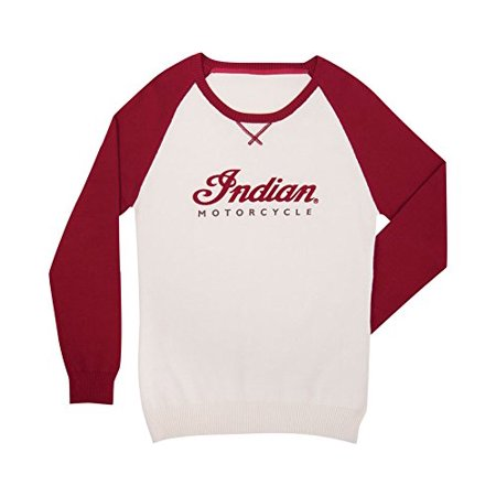 Indian Motorcycle New OEM Color Block Knit Shirt Women's X-Small,