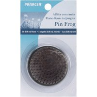 Pin Frog Metal Pin Floral Arranger - Round - Metal - Silver - 2 in - 1 Holder