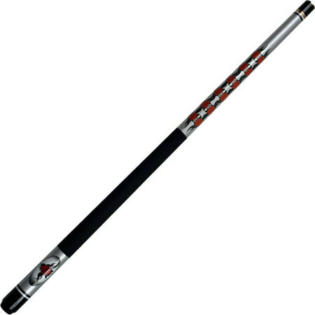 Rose 2 Pc Pool Cue Stick