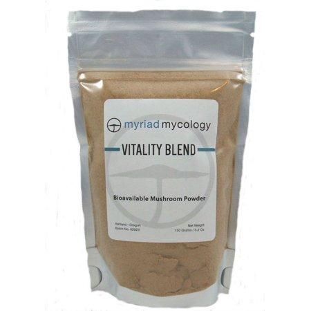 Cordyceps Mushroom - Myriad Mycology Vitality Blend,Ten Species Mushroom Powder  5.2 oz