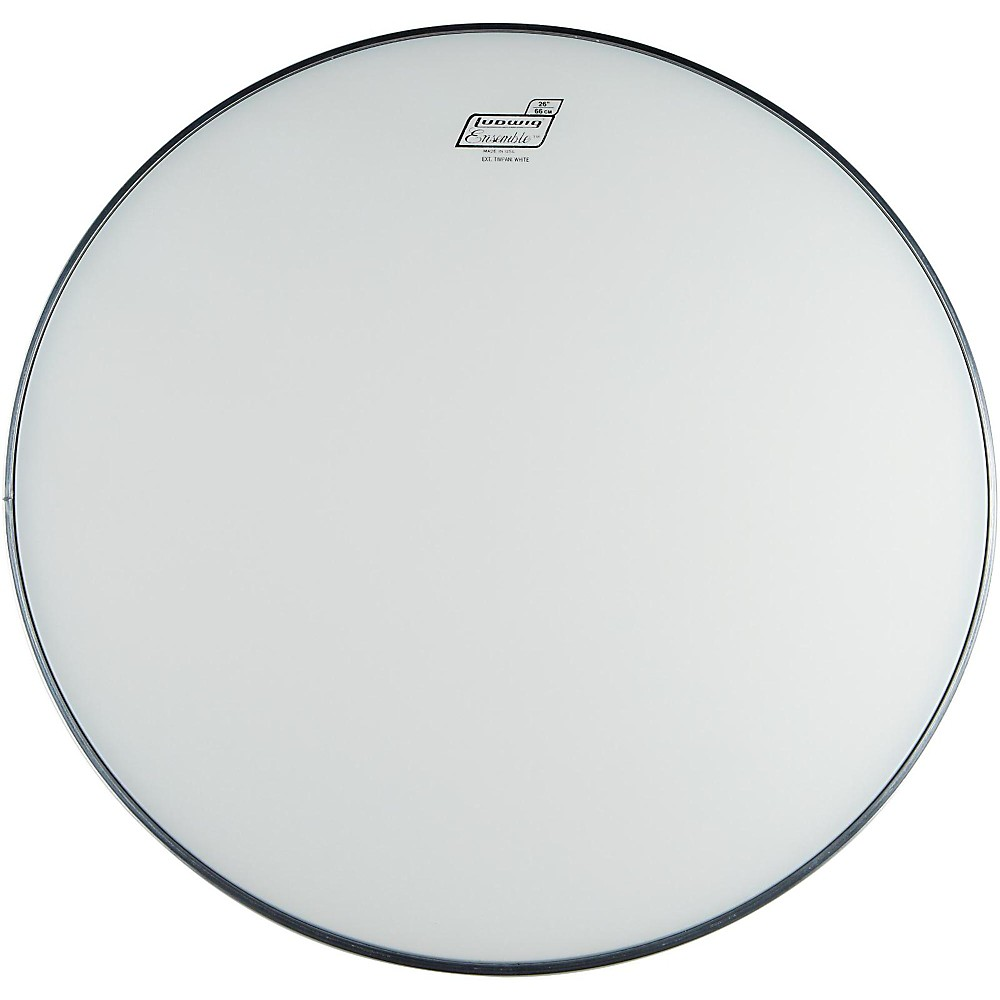 Ludwig C8200 Extended Collar Timpani Head White 23 in.