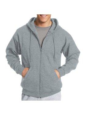 028ee8c96ef5 Product Image Hanes Big   Tall Men s EcoSmart Fleece Zip Pullover Hoodie  with Front Pocket