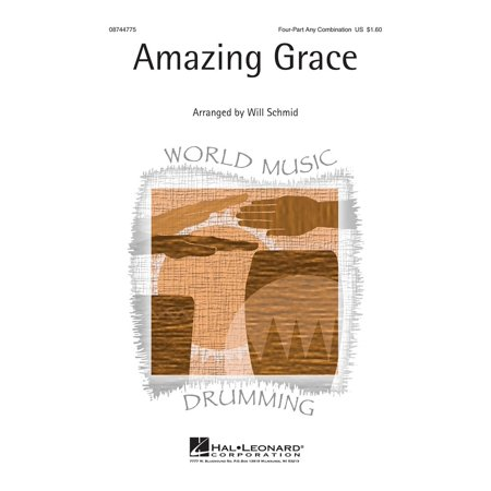 Hal Leonard Amazing Grace Showtrax Cd Arranged By Will Schmid
