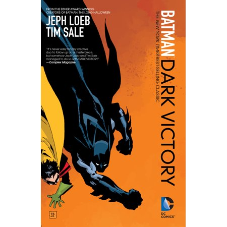 Batman: Dark Victory (New Edition) - Batman The Long Halloween Jeph Loeb