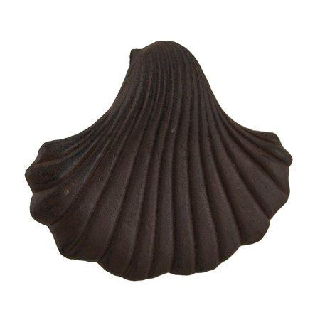 - Seashell Shaped Rustic Finish Cast Iron Door Knocker