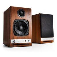 Audioengine HD3 Walnut (Pr) Powered Desktop Speakers with Bluetooth