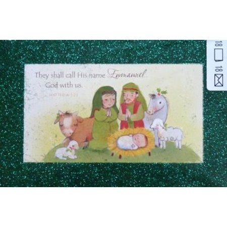 18 emmanuel god with us scripture christmas cards - Christmas Card Scripture