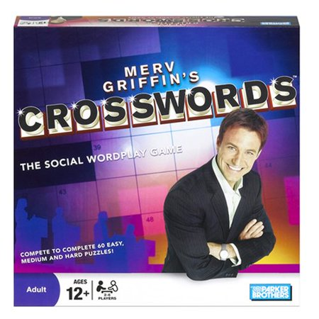 Merv Griffins Crosswords Board Game