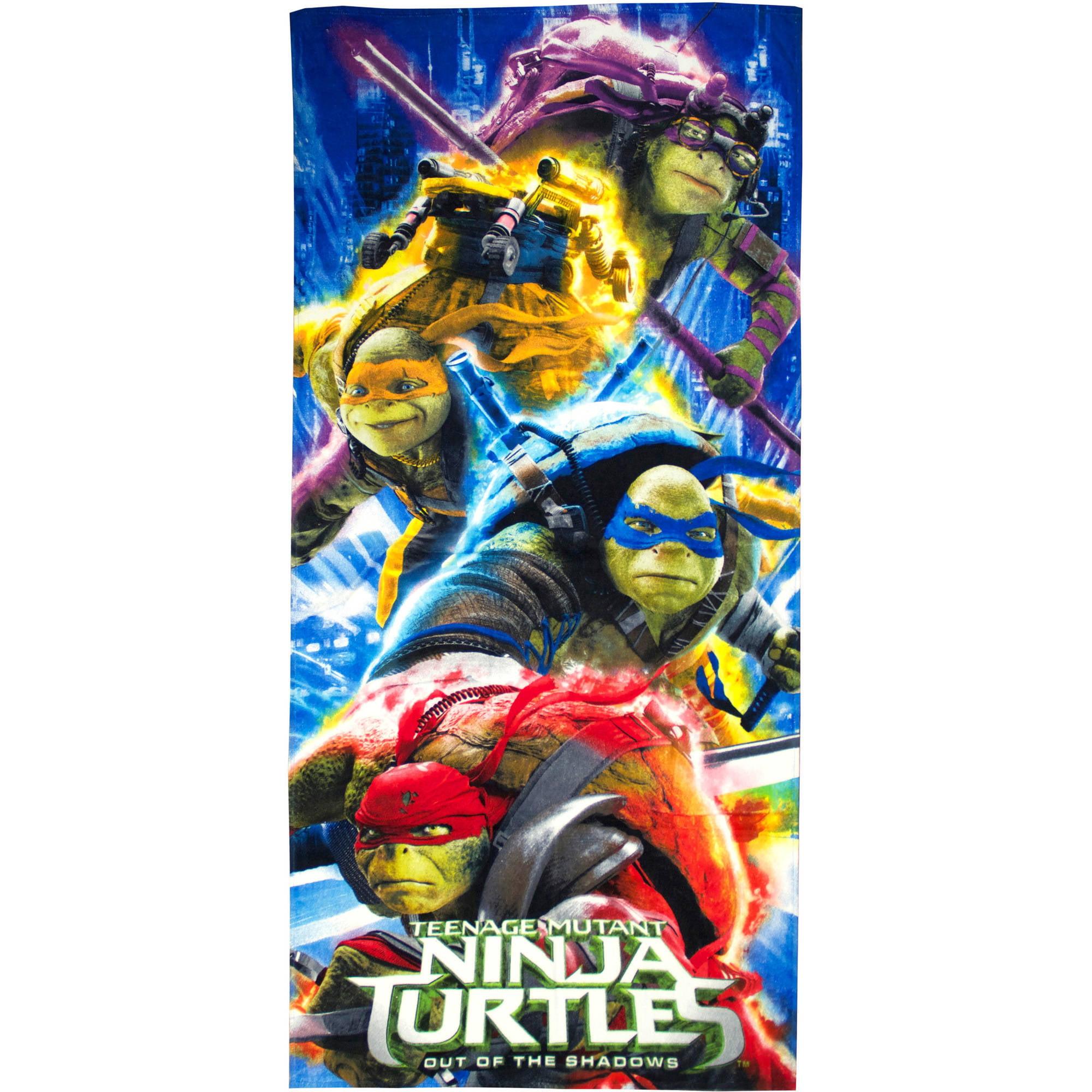 Age Mutant Ninja Turtles Movie Beach Towel