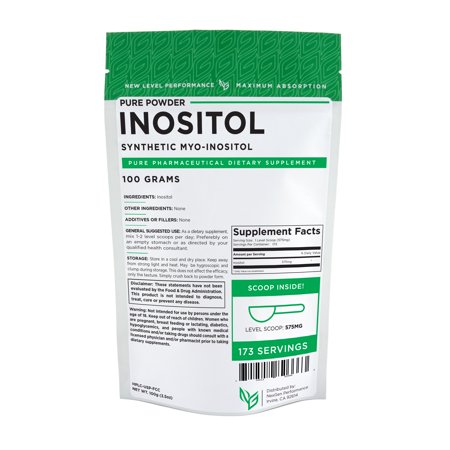 Inositol Powder 100g (3.5oz) – Mood – Stress – Anxiety - Happy - (Best Anti Anxiety Medication For Men)