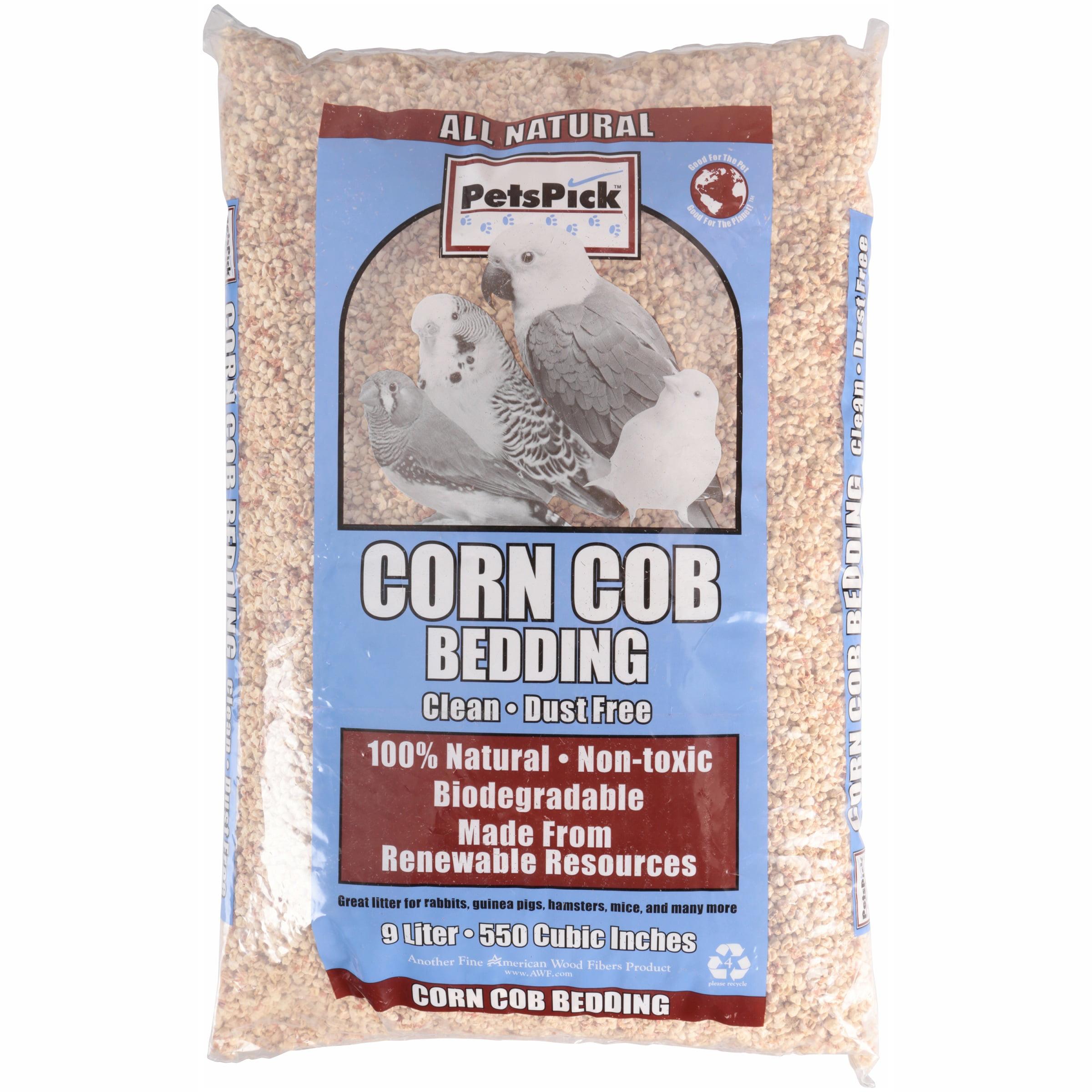 Pet's Pick Corn Cob Bedding, 9 l