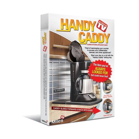 Handy Caddy Sliding Kitchen Under Cabinet Appliance Moving Caddy, Takes effort out of accessing frequently used kitchen appliances By Milen (Used Home Appliances For Sale In Singapore)