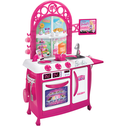 disney - disney barbie gourmet kitchen - walmart