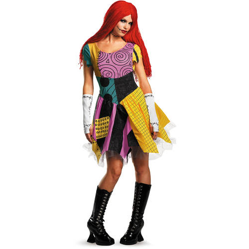 Nightmare Before Christmas Sally Sassy Adult Halloween Costume