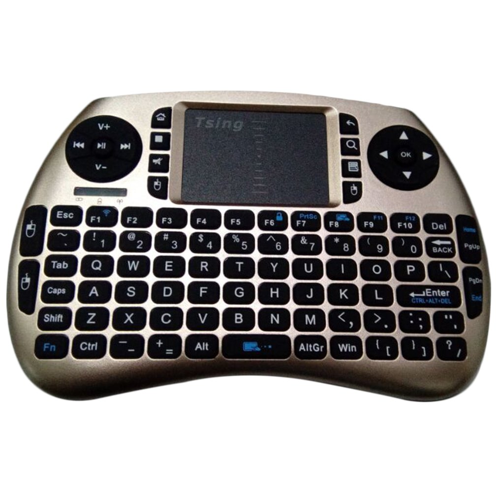 21S Mini 2.4G Wireless Multifunctional Computer Table PC Hand Held Portable Keyboard English For Pad