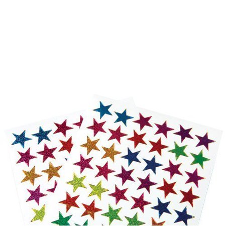 Metallic Stickers (US Toy Classic Metallic Star Stickers Toy (Lot of 576), Assorted)