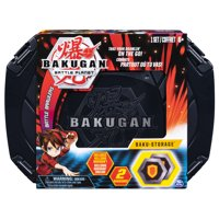 Bakugan, Baku-storage Case (Black) for Bakugan Collectible Action Figures, for Ages 6 and Up