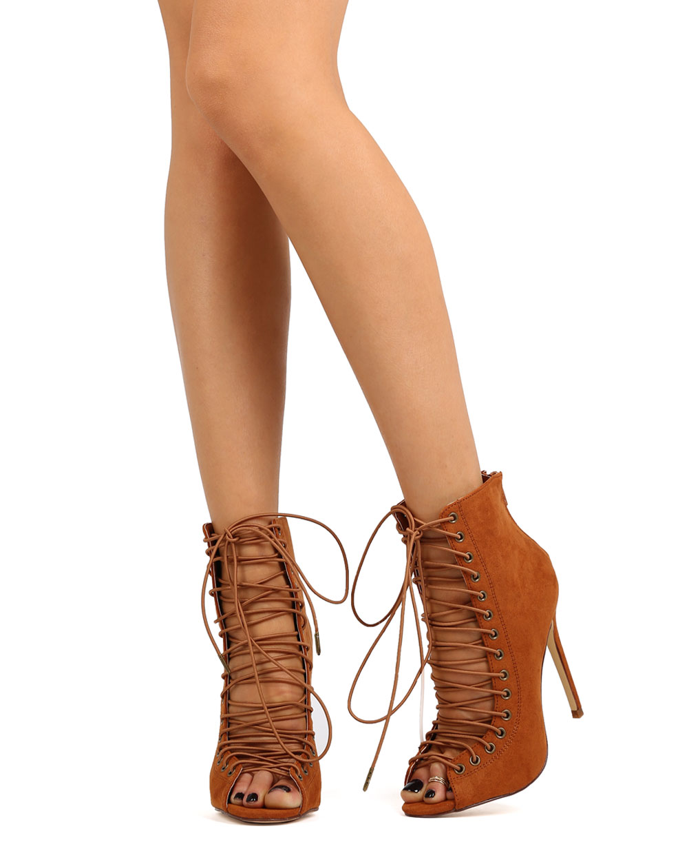 corset flats 7.5 brown reptile shoes lace up flats 8