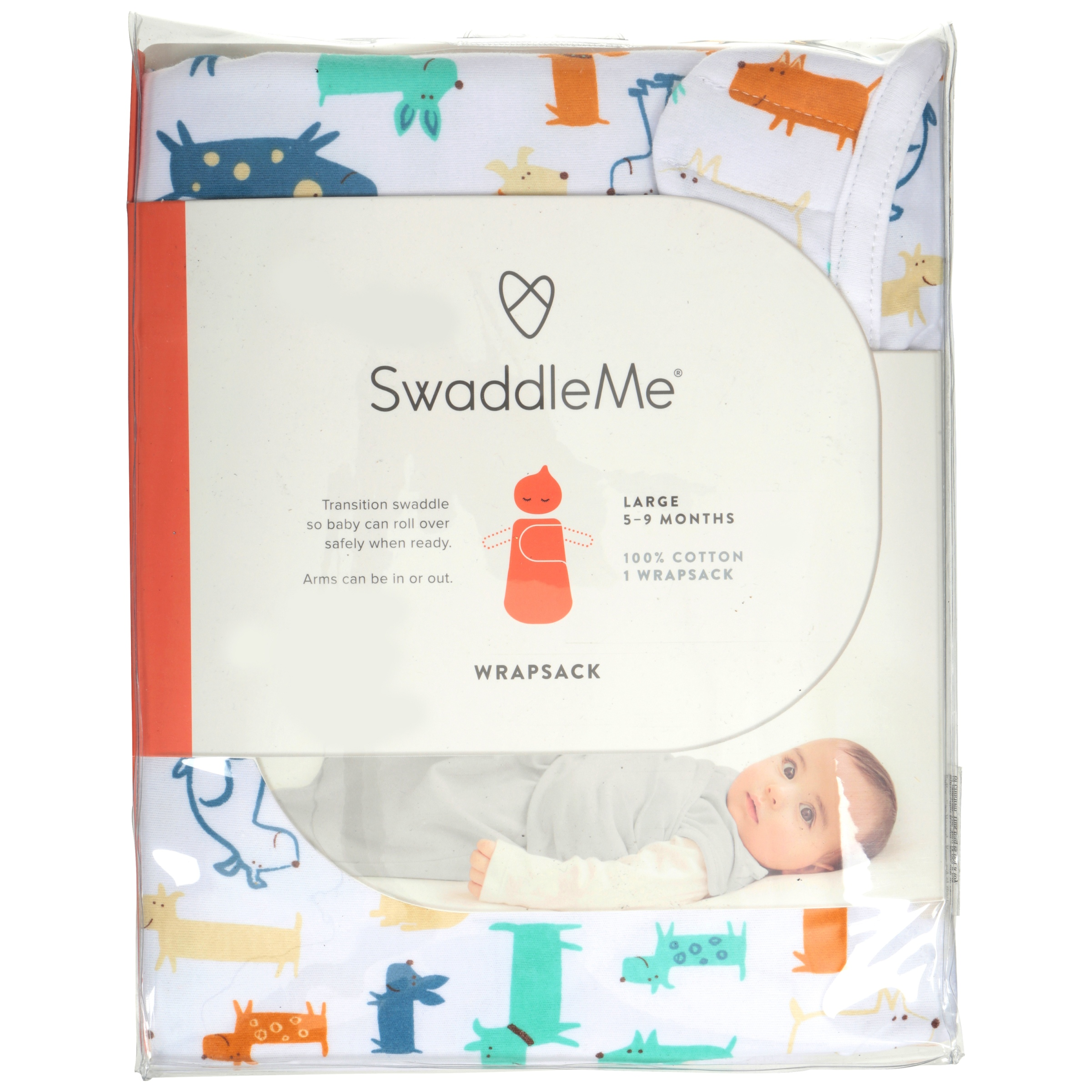 SwaddleMe® Large Wrapsack