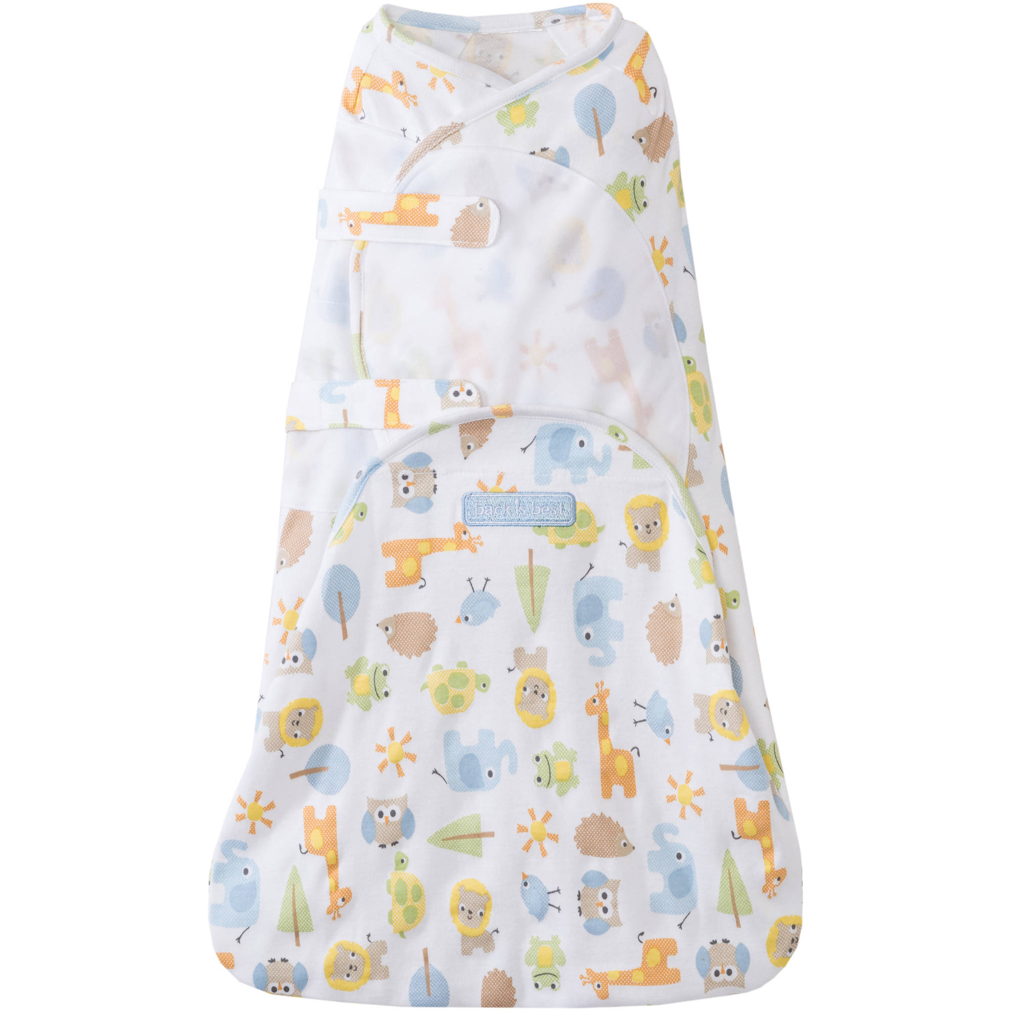 SwaddleSure Adjustable 100 Percent Cotton Swaddle
