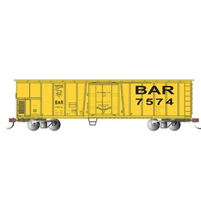 Bachmann-50' Steel Mechanical Reefer - Ready to Run - Silver Series(R) -- Bangor