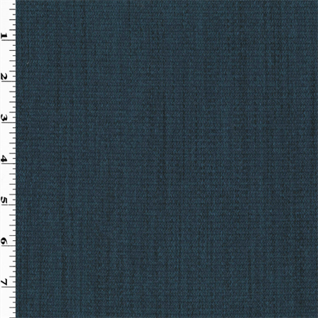 Deep Ocean Blue Texture Woven Home Decorating Fabric, Fabric By the Yard ()