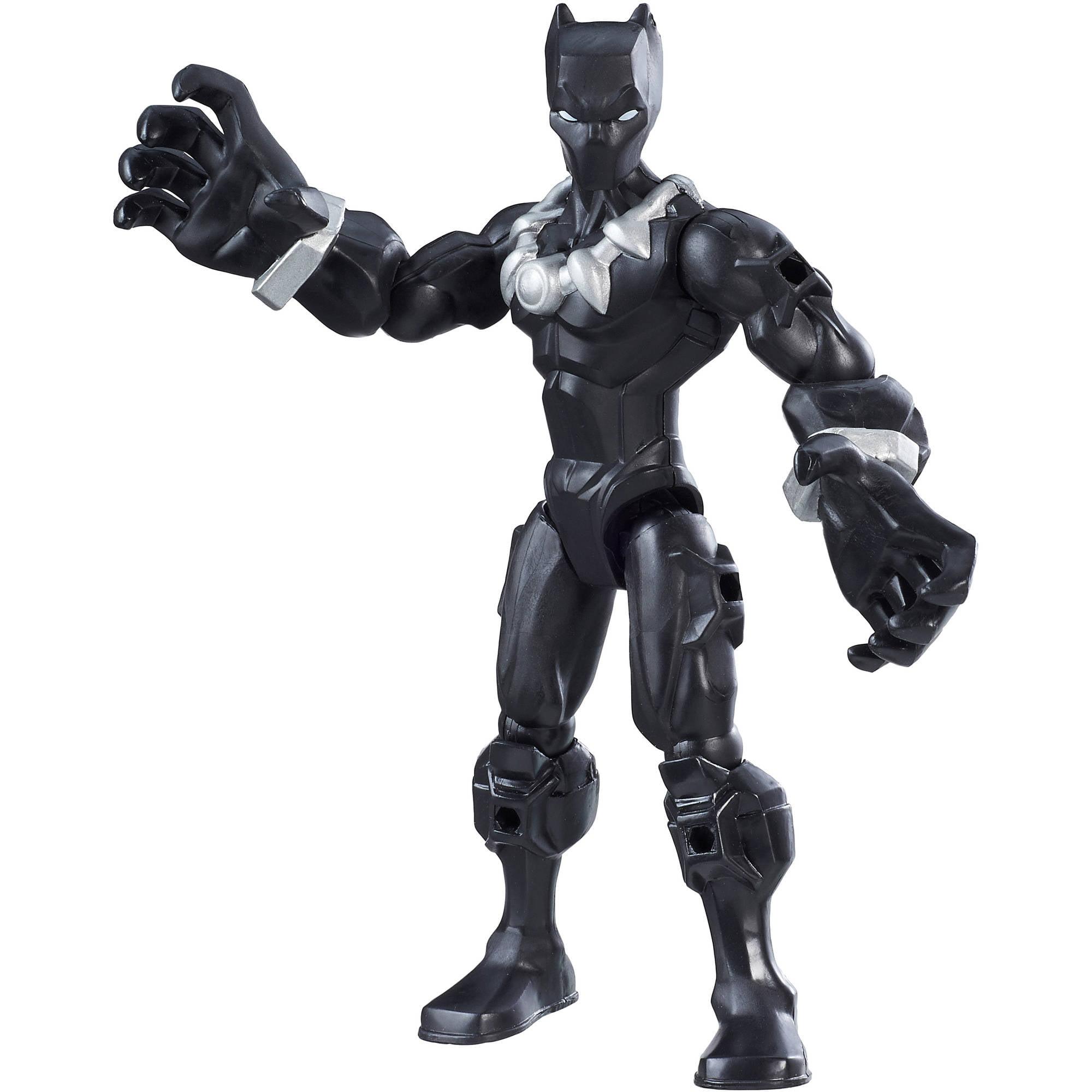 Marvel Super Hero Mashers Black Panther Figure - Walmart.com