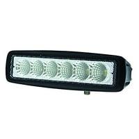 HELLA 357203001 Value Fit Mini Light Bar (6 LED, Flood Beam)