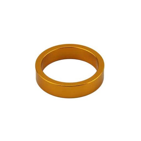 Headset Spacer, 1-1/8in x 8mm, Gold