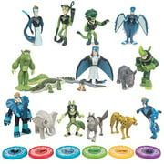 Wild Kratts Toys Collector Action Figure Set, Figures and Discs - 22 Pieces