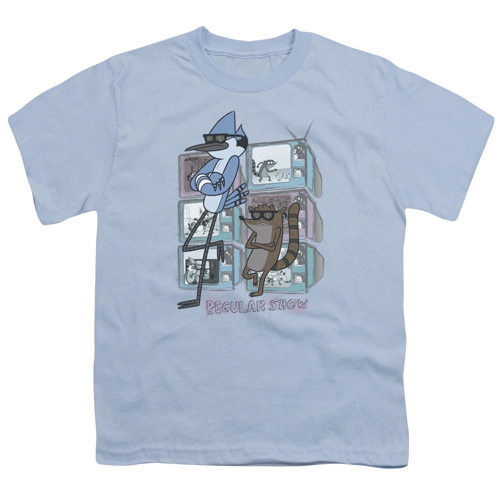 Regular Show Tv Too Cool Big Boys Youth Shirt