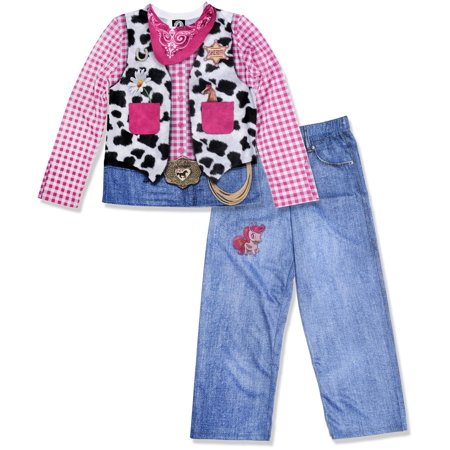 Owl Night Long Girls Long Sleeve Tee and Pant PJ Set (Little Girls & Big Girls) for $<!---->