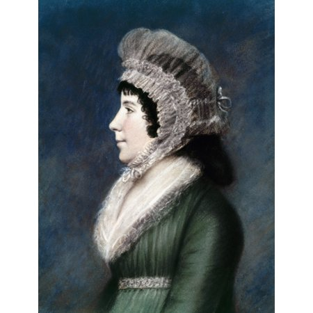 Dolley Madison  1768 1849  Nne Payne Wife Of James Madison Pastel By James Sharples 1797 Poster Print By Granger Collection