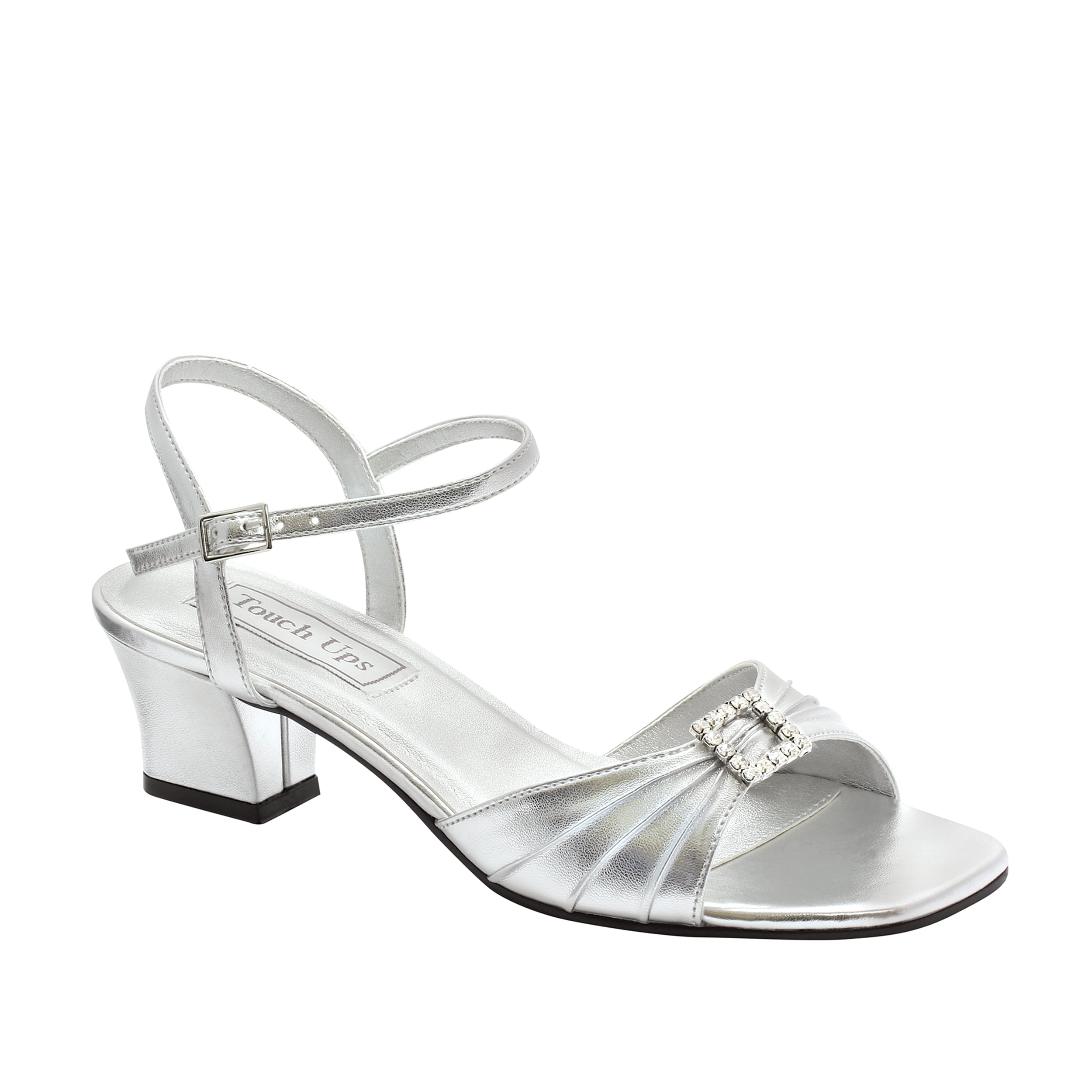 retail prices super quality hot sales Touch Ups - Touch Ups Womens Shala Sandal,Silver,11 W US - Walmart.com