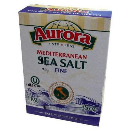 Aurora Salt - Sea Salt, Mediterranean, FINE (Aurora) 1kg (35 oz)
