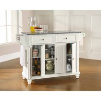 Crosley Furniture Cambridge Solid Granite Top Kitchen Island