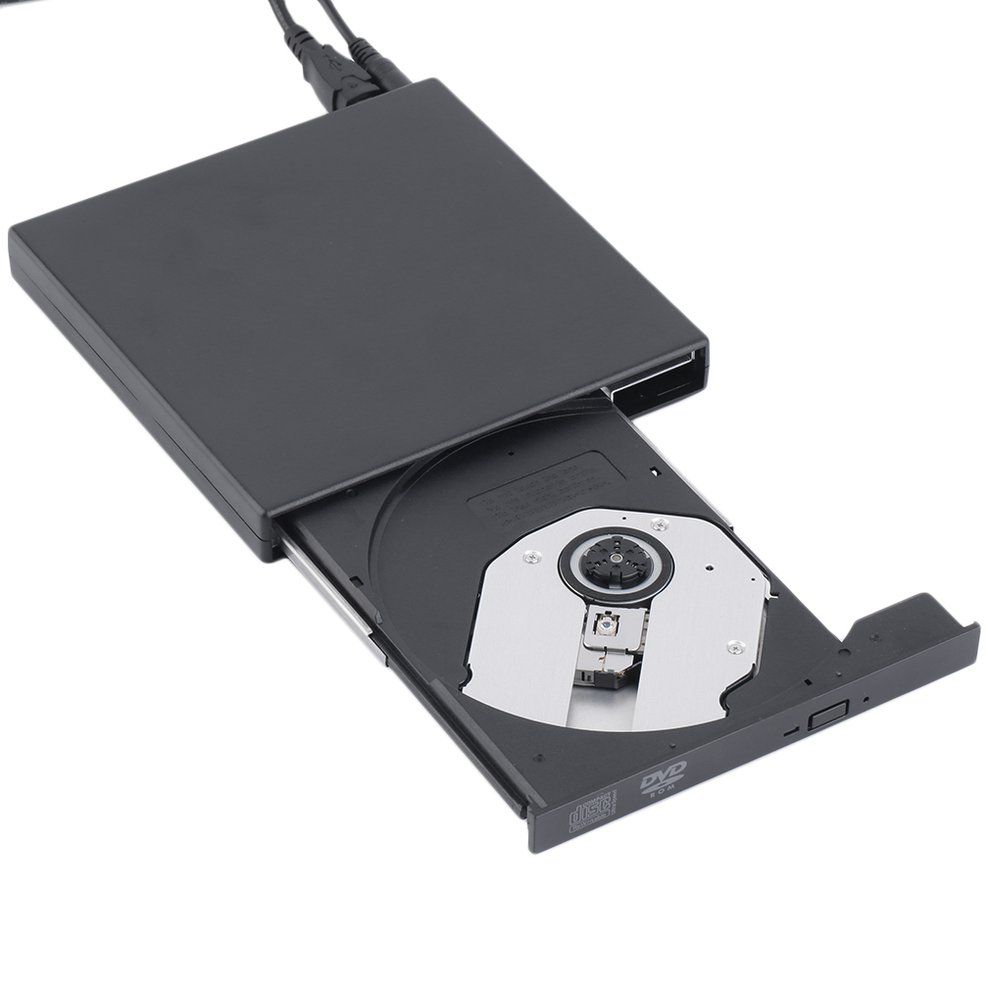 New USB 2.0 External DVD Combo CD-RW Burner Drive CD±RW DVD ROM