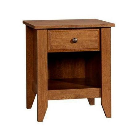 Sauder Shoal Creek Collection Nightstand, Oiled (Oak Washstand)