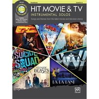 Hit Movie & TV Instrumental Solos: Songs and Themes from the Latest Movies and Television Shows (Trombone), Book & CD (Paperback)