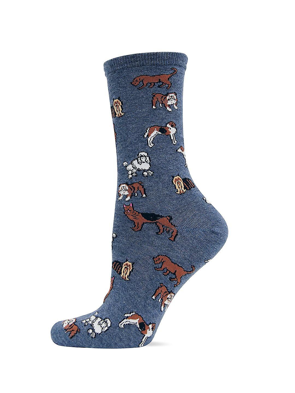 Dog Printed Trouser Socks