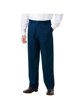 Ks Signature Men's Big & Tall Easy Movement Plain Front Expandable Suit Separate Dress Pants