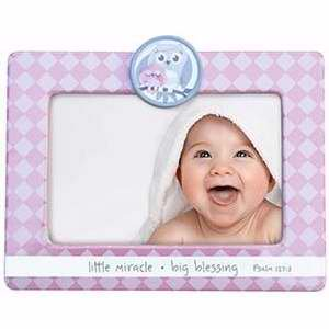 Frame-Little Miracle Big Blessing-Pink (6.5